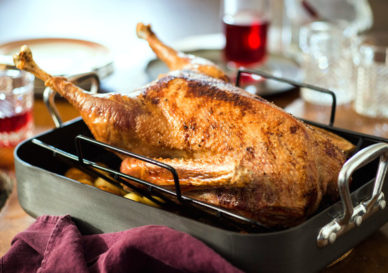 oven roasted goose