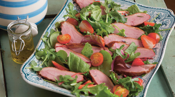 smoked-duck-breast-salad-recipe